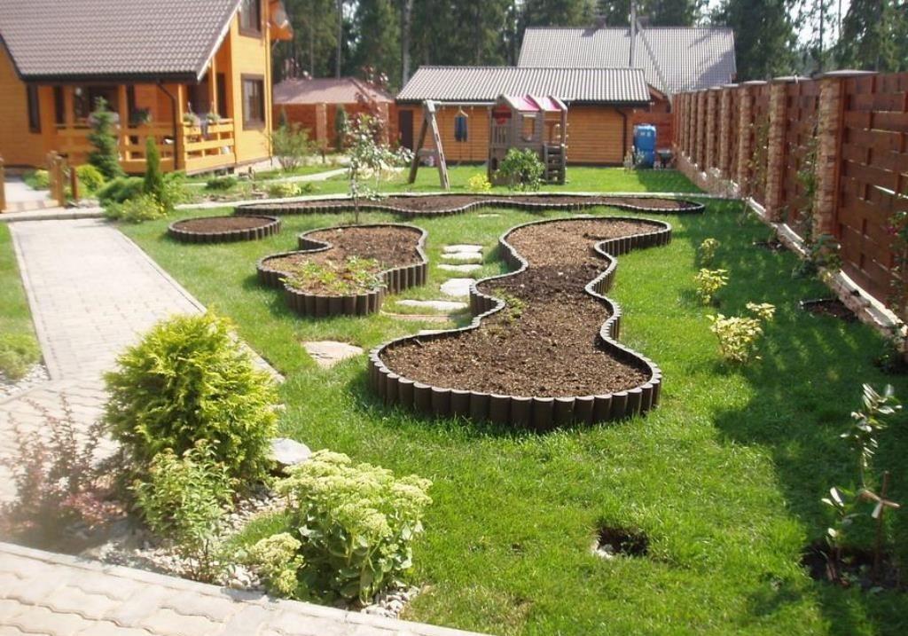 Как оформить огород