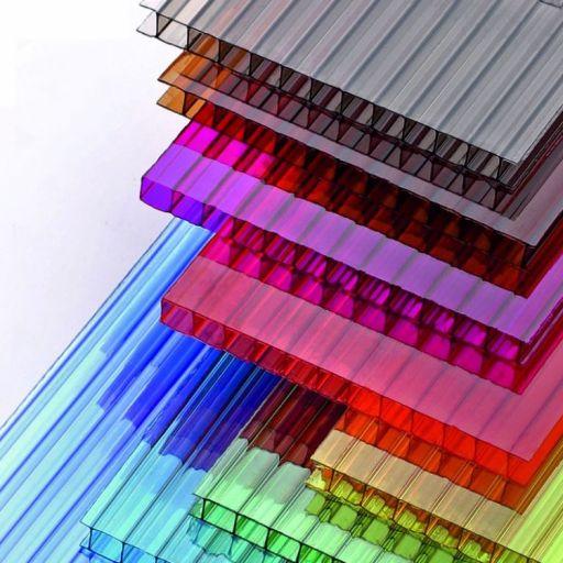 Цветной сотовый поликарбонат 4мм
