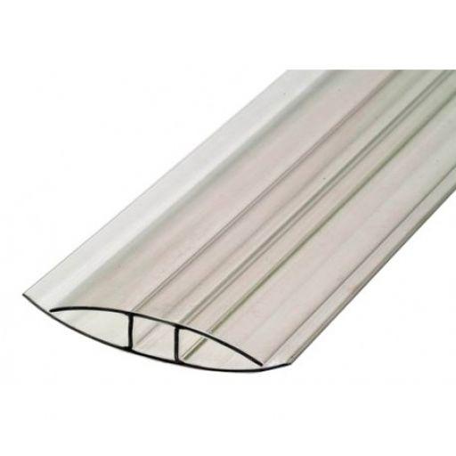 Профиль соединительный H-образный 4, 6 мм