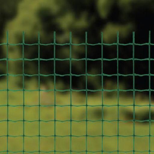 Сетка сварная оцинкованная с полимерным покрытием  1,5 м х 20 м / 50 мм х 50 мм / 2,5 мм