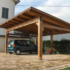 Автонавес деревянный